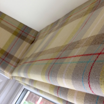 Maker of Roman Blinds in Rugby