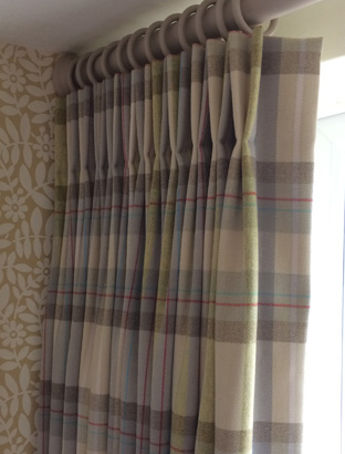Bespoke Curtains made in Lutterworth