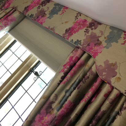 Handmade curtains in Rugby