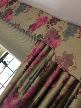 Handmade Curtains and Pelmets